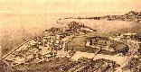 Ancona, Sistemazione urbanistica della zona a mare e del rione Archi e della Fiera della pesca, Amos Luchetti Gentiloni, 1935 circa