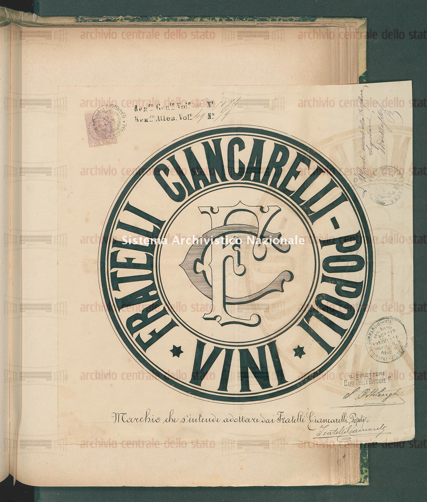 Ditta Fratelli Ciancarelli Giuseppe Ed Eustachio (27/12/1901)