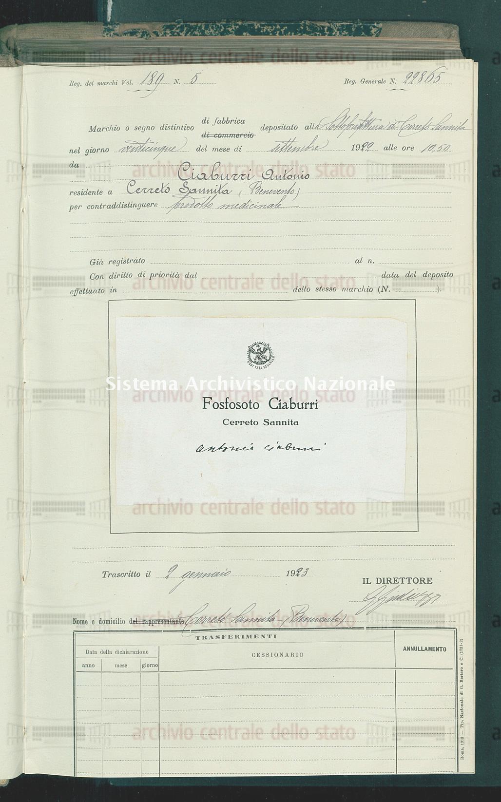 Ciaburri Antonio (02/01/1923)