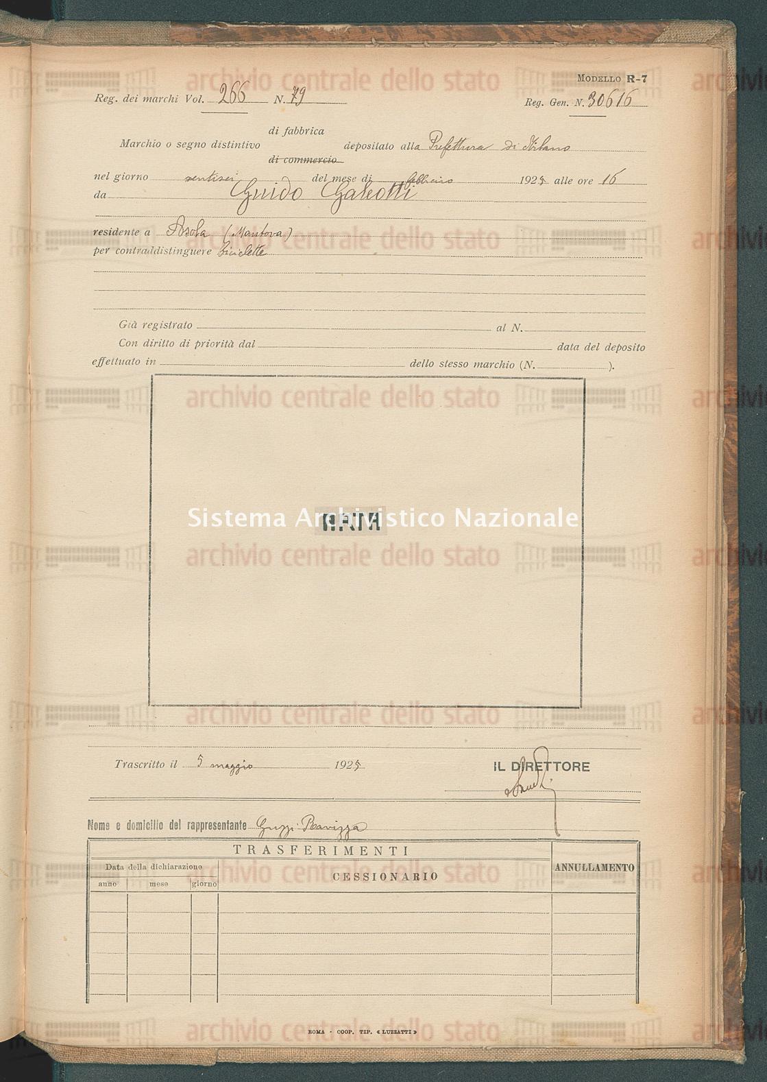 Guido Galeotti (05/05/1925)