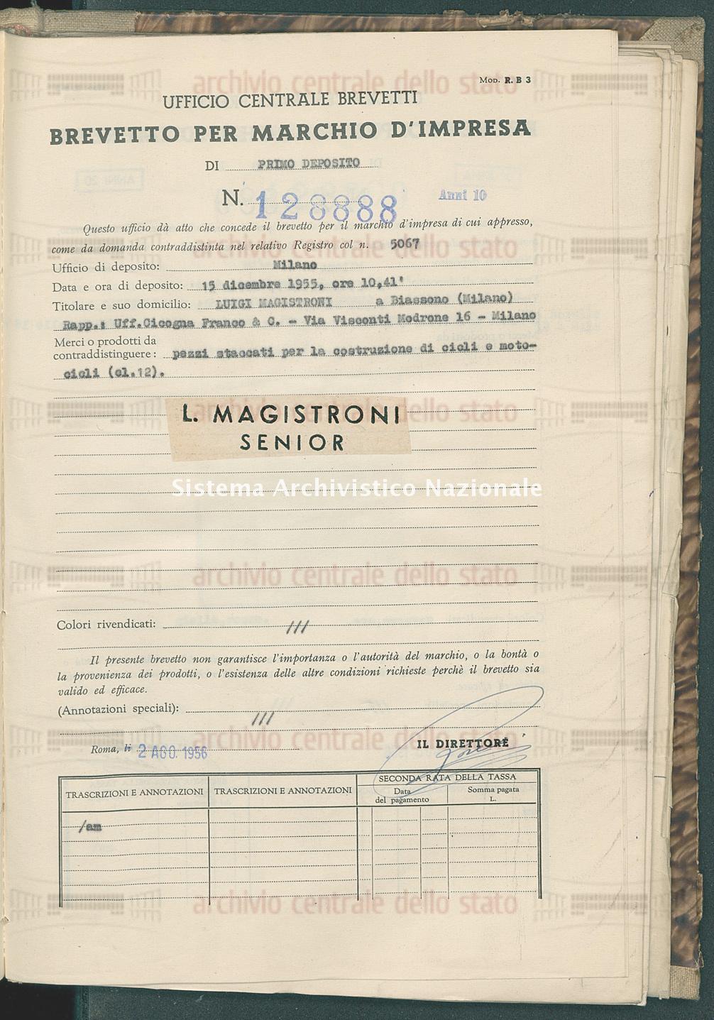 Luigi Magistroni (02/08/1956)