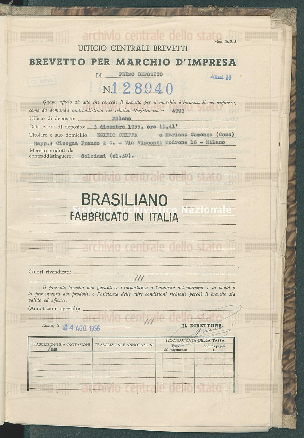 Egidio Crippa (14/08/1956)