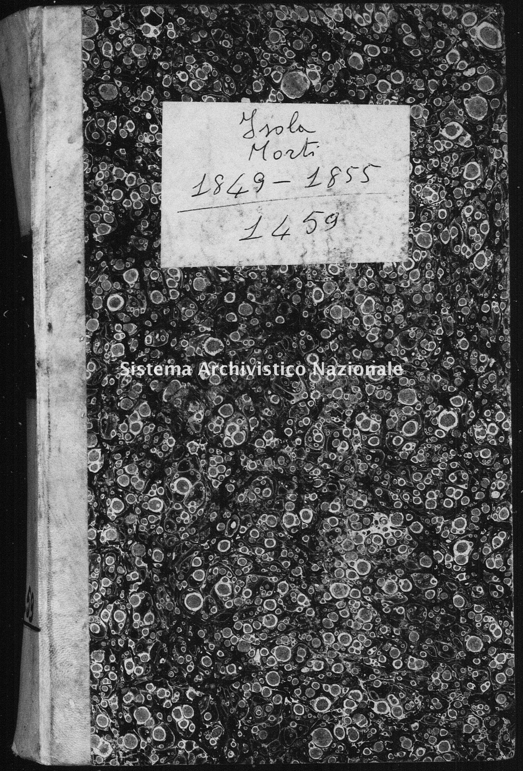 Archivio di stato di Catanzaro - Stato civile italiano - Isola Capo Rizzuto - Morti - 08/01/1849-21/12/1849 - 1459 -