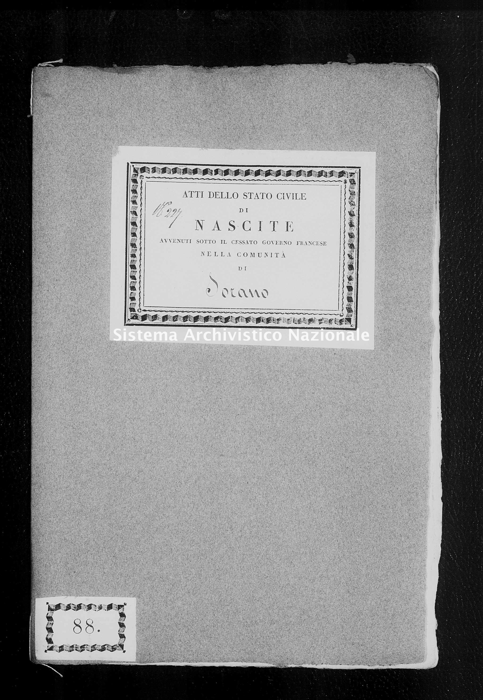 Archivio di stato di Firenze - Stato civile di Toscana (1808-1865) - Montebuono - Nati - 1814 - 410 -