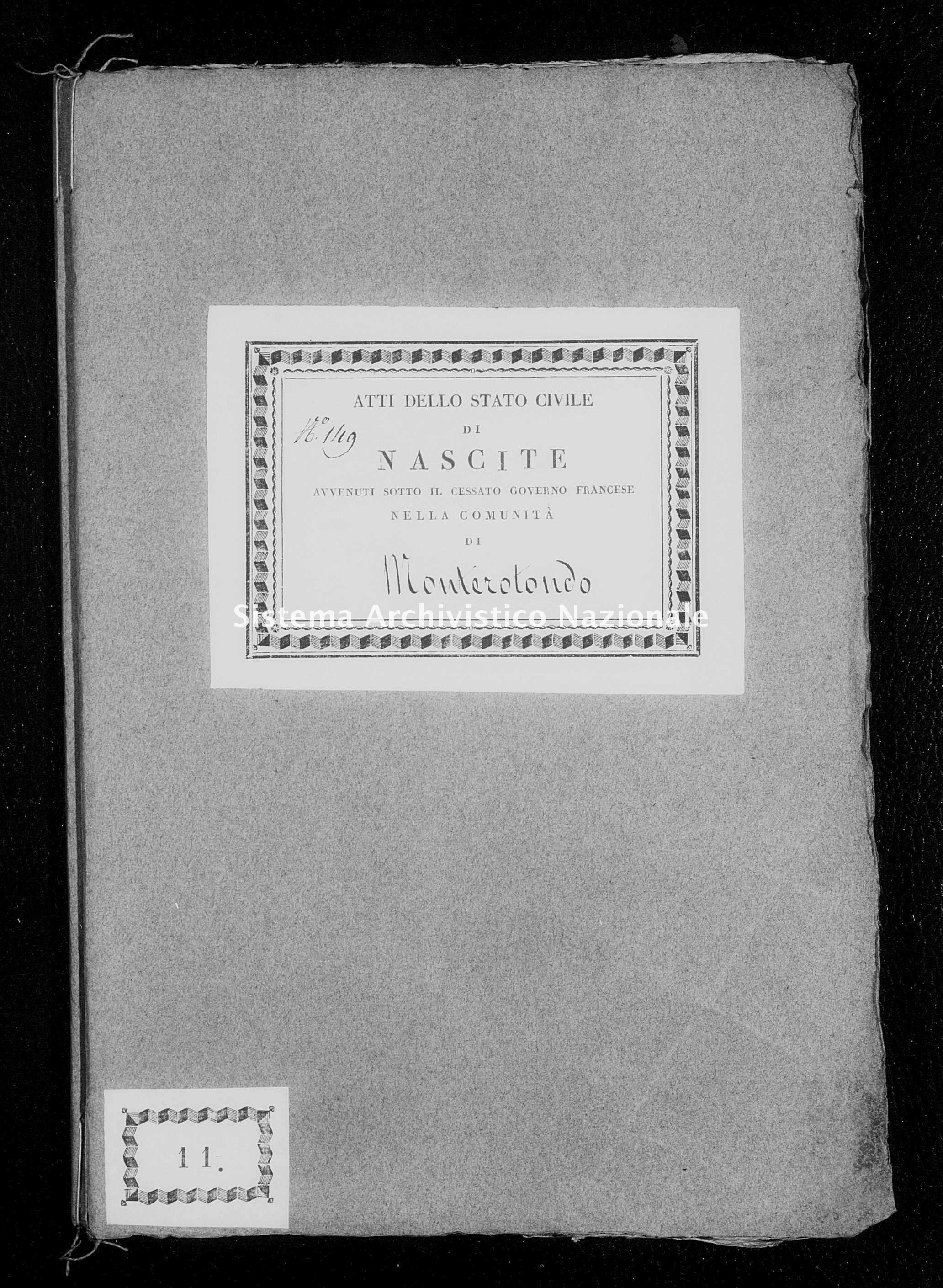 Archivio di stato di Firenze - Stato civile di Toscana (1808-1865) - Monterotondo - Nati - 1811 - 266 -