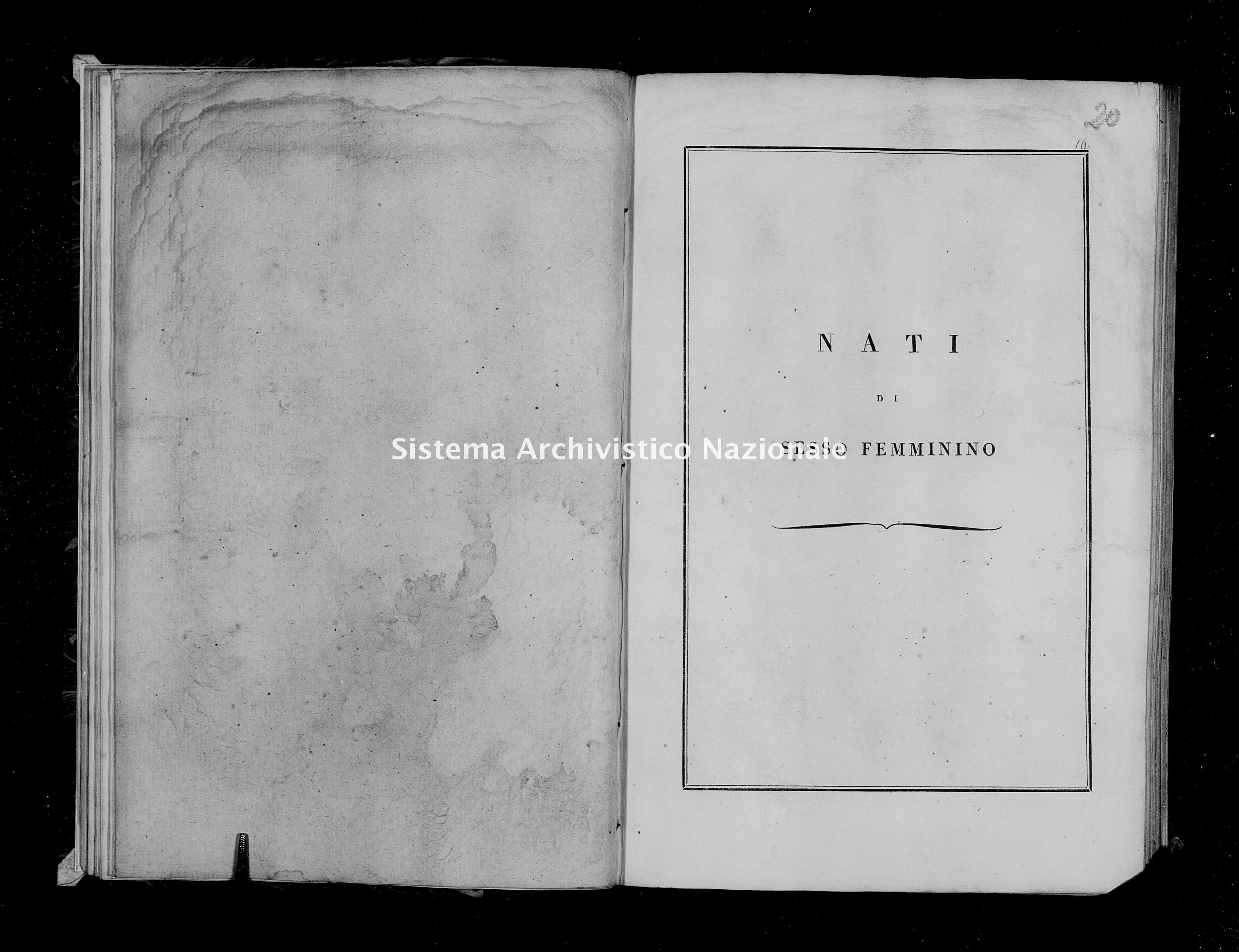 Archivio di stato di Firenze - Stato civile di Toscana (1808-1865) - Zeri - Nati - 1808-1814 - 255, Femmine -