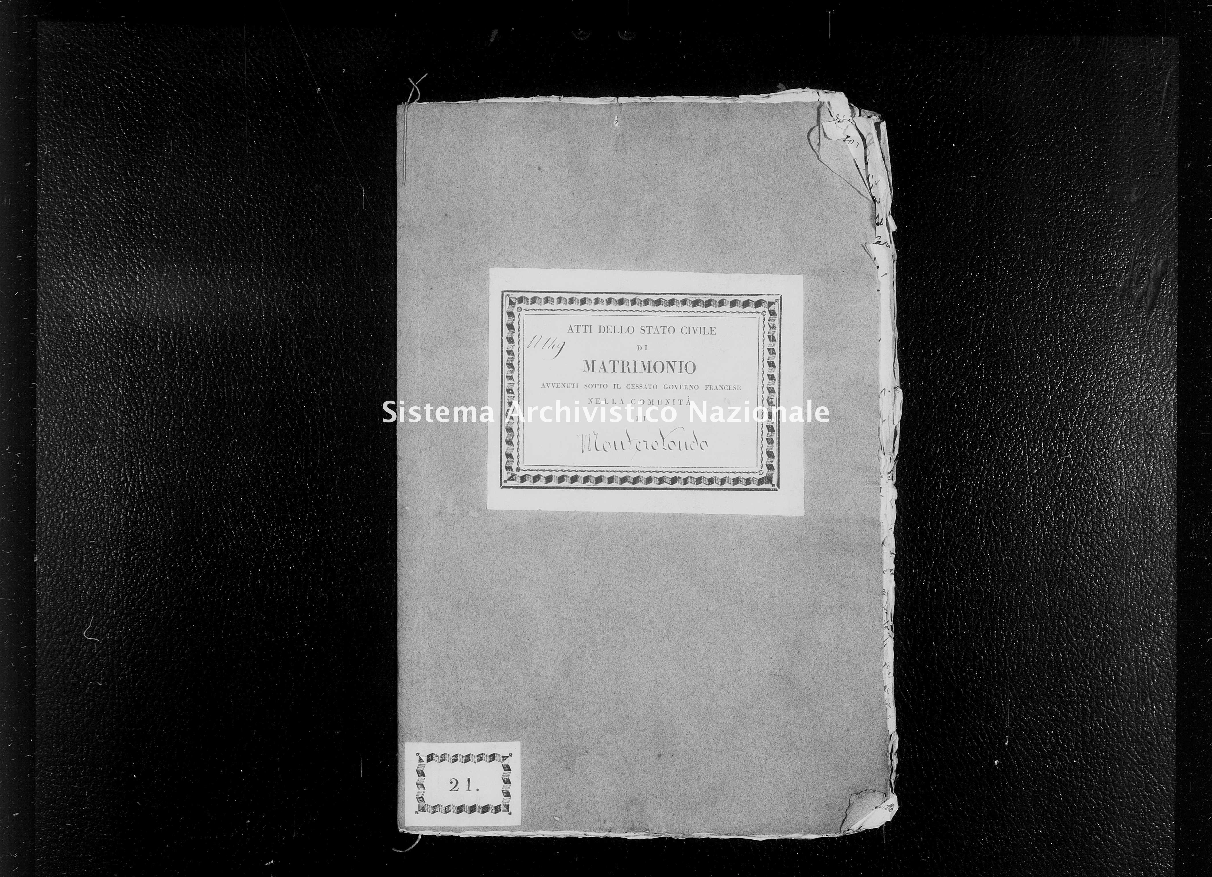 Archivio di stato di Firenze - Stato civile di Toscana (1808-1865) - Monterotondo - Matrimoni - 1814 - 266 -