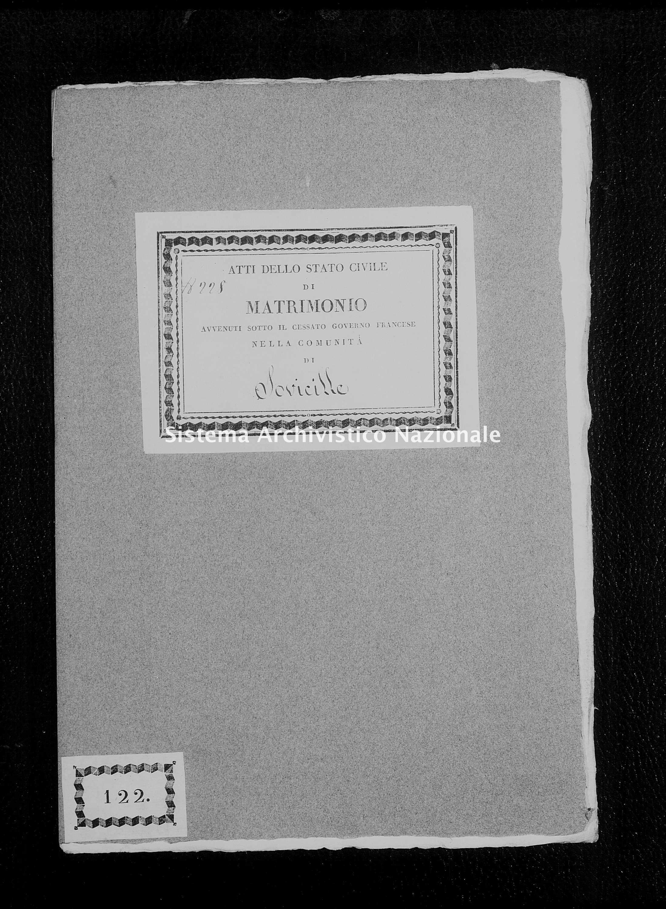 Archivio di stato di Firenze - Stato civile di Toscana (1808-1865) - Stigliano - Matrimoni - 1813 - 413 -