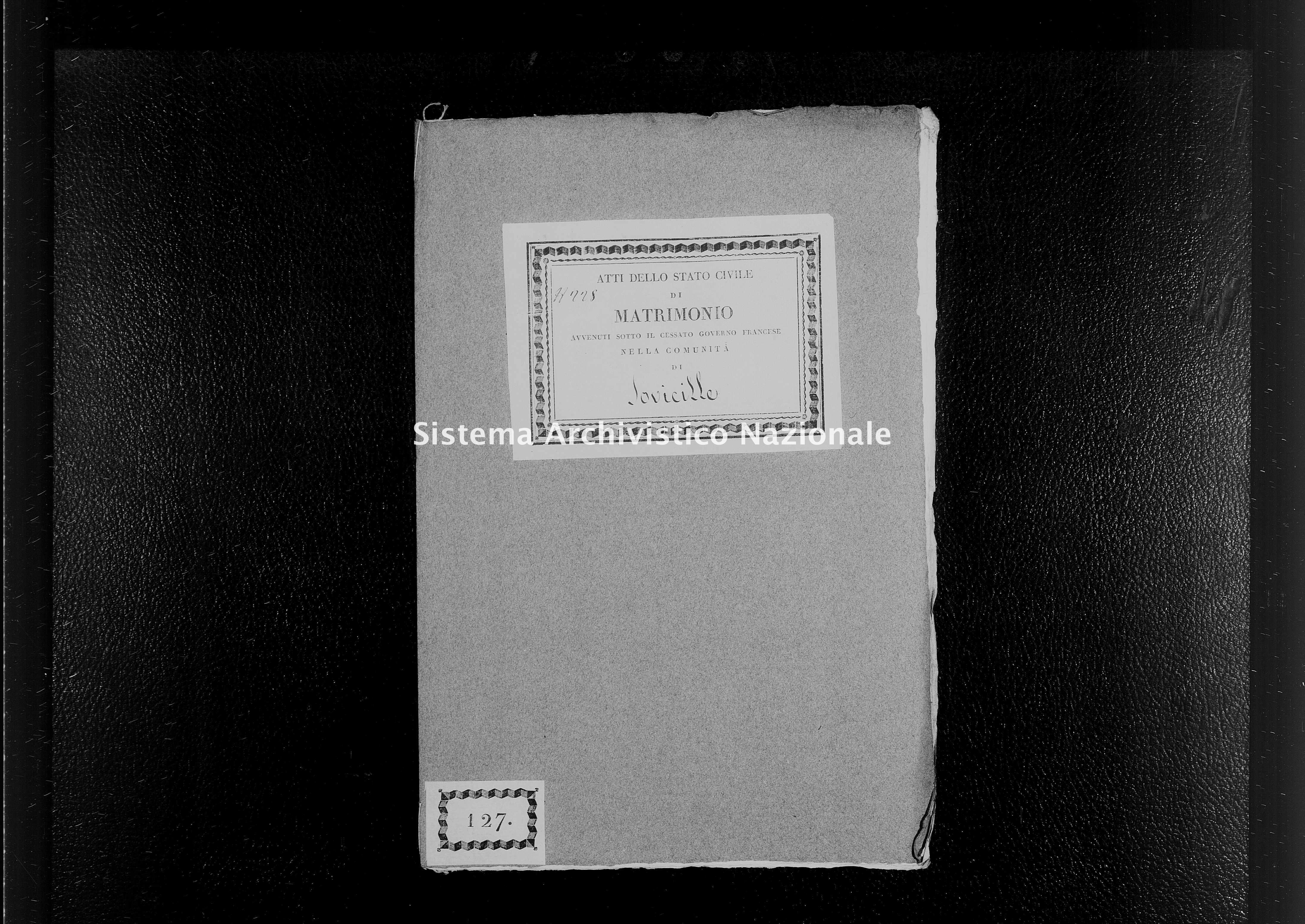 Archivio di stato di Firenze - Stato civile di Toscana (1808-1865) - Brenna - Matrimoni - 1813 - 413 -