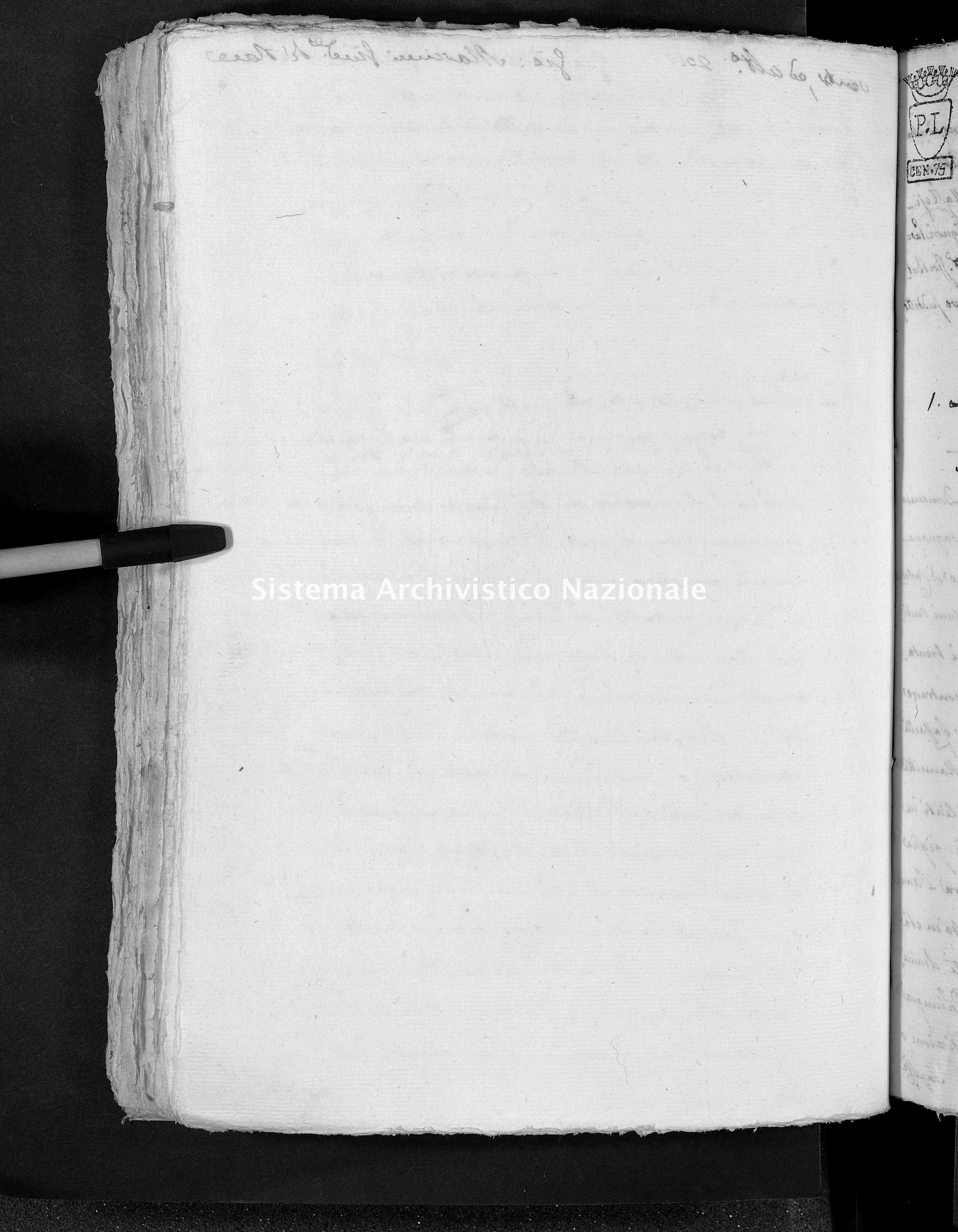 Archivio di stato di Lucca - Stato civile napoleonico - Castelnuovo - Matrimoni, pubblicazioni - 1809 - 66 -