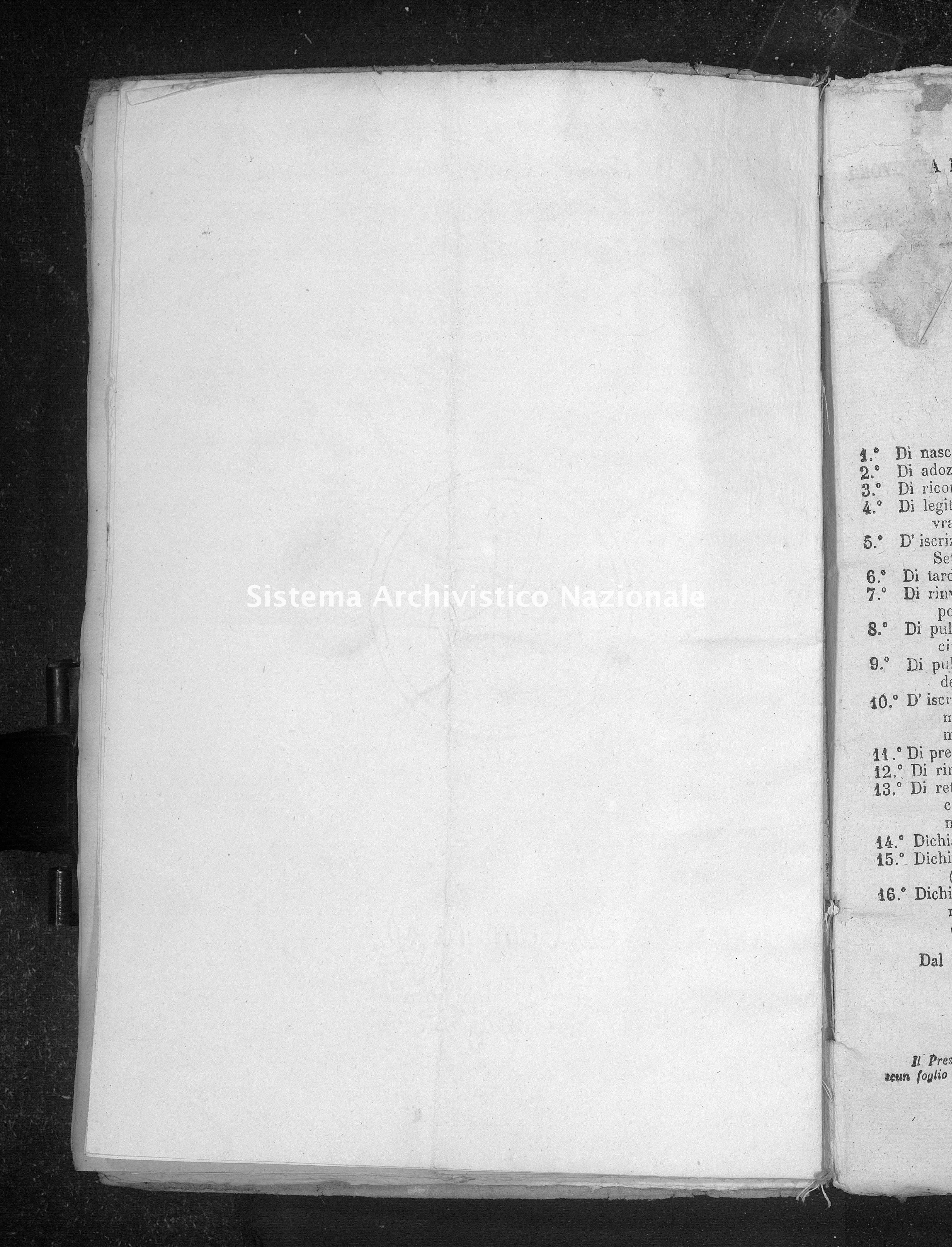 Archivio di stato di Taranto - Atti dello Stato Civile del Distretto giudiziario di Taranto - Martina Franca - Diversi - 1864 - 3 -