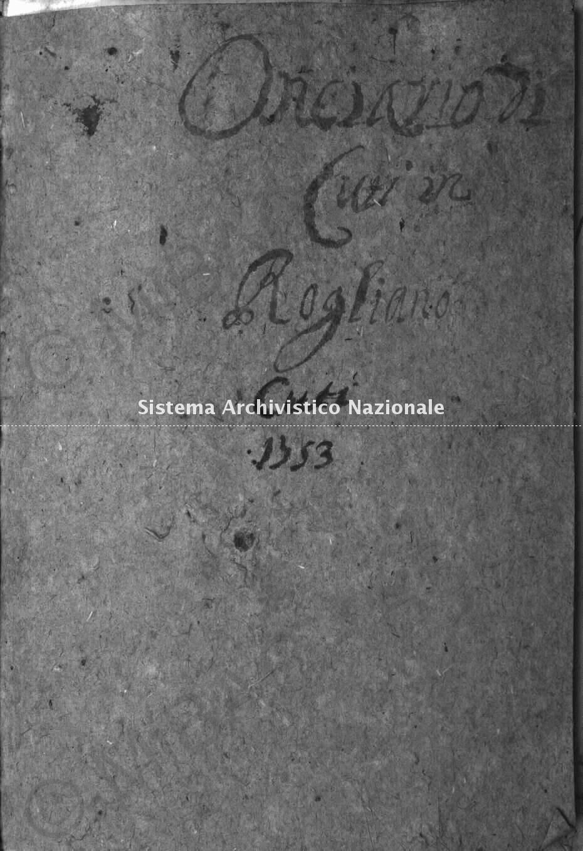 Archivio di Stato di Cosenza. Catasto Onciario Cuti
