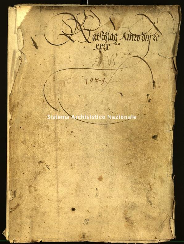 Archivio Storico della Città di Bolzano - Stadtarchiv Bozen - Hs. 10c. protocollo consiliare 1529