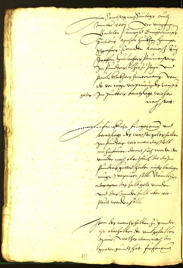 Archivio Storico della Città di Bolzano - Stadtarchiv Bozen - Hs. 10e. protocollo consiliare 1532