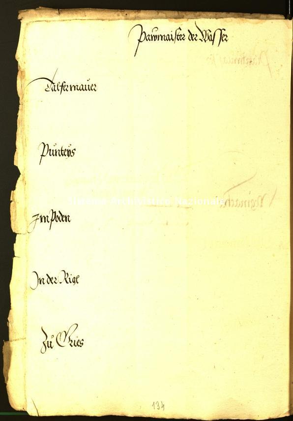 Archivio Storico della Città di Bolzano - Stadtarchiv Bozen - Hs. 10f. protocollo consiliare 1533