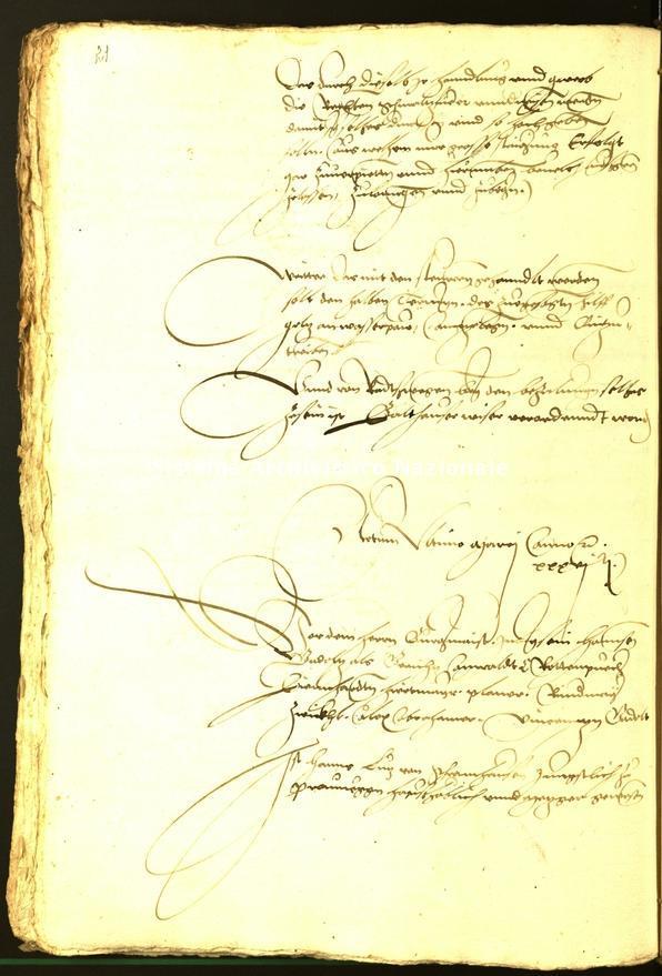 Archivio Storico della Città di Bolzano - Stadtarchiv Bozen - Hs. 11a. protocollo consiliare 1536