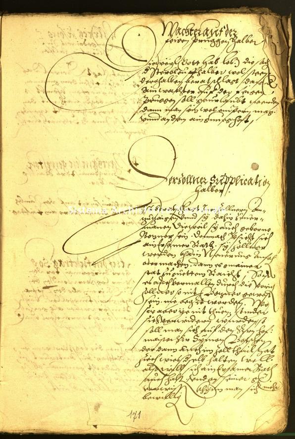 Archivio Storico della Città di Bolzano - Stadtarchiv Bozen - Hs. 15d. protocollo consiliare 1565
