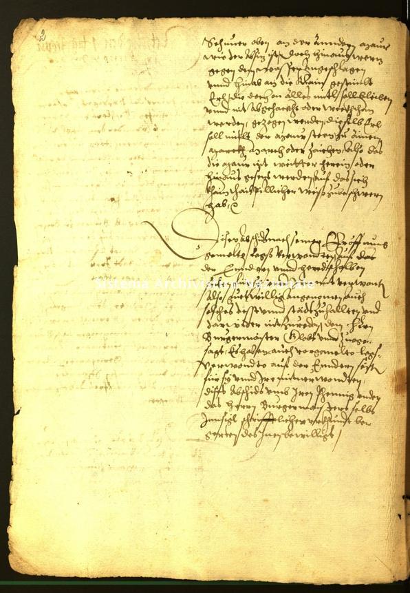 Archivio Storico della Città di Bolzano - Stadtarchiv Bozen - Hs. 16a. protocollo consiliare 1566