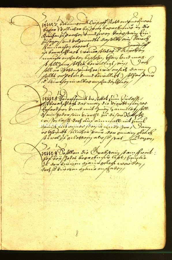 Archivio Storico della Città di Bolzano - Stadtarchiv Bozen - Hs. 18a. protocollo consiliare 1568/69