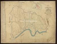 Archivio di Stato di Arezzo - Catasto particellare - AREZZO - Mappe - Attivazione - A/1 - 008_A01A