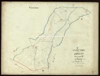 Archivio di Stato di Arezzo - Catasto particellare - AREZZO - Mappe - Attivazione - P/3 - 008_P03A