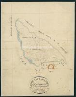 Archivio di Stato di Arezzo - Catasto particellare - CAPRESE - Mappe - Impianto - B/1 (6) - 063_B01I
