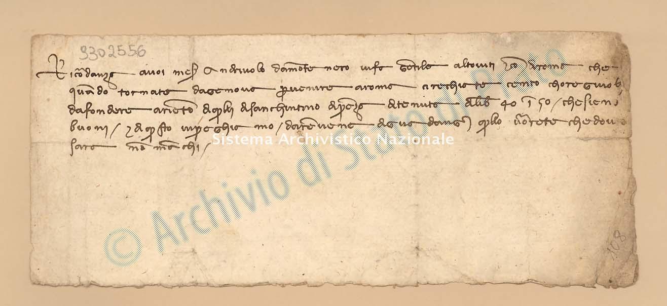 Archivio di Stato di Prato, Fondo Datini, Carteggio specializzato, Ricordanze, Busta 1166 (busta 1166, codice 9302556)