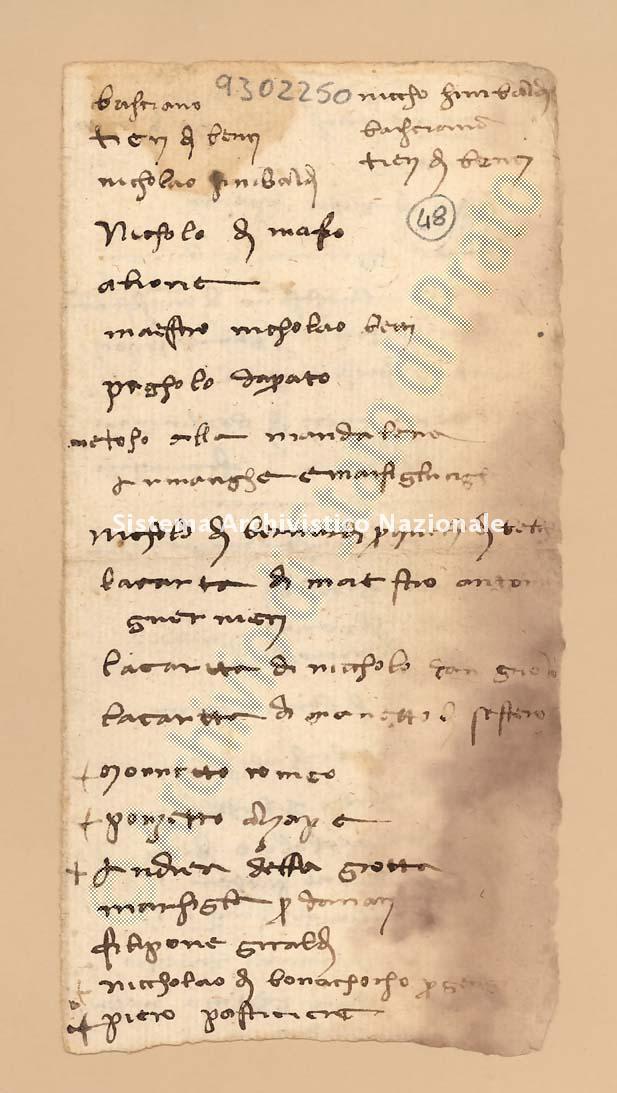 Archivio di Stato di Prato, Fondo Datini, Carteggio specializzato, Ricordanze, Busta 1166 (busta 1166, codice 9302250)