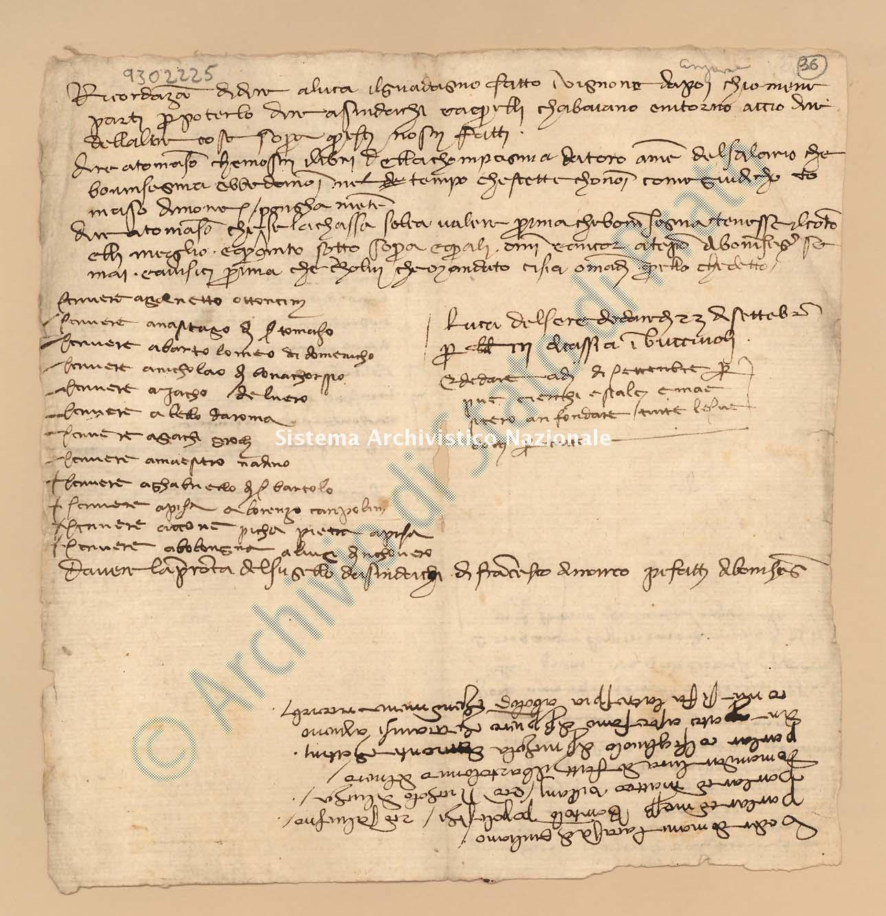 Archivio di Stato di Prato, Fondo Datini, Carteggio specializzato, Ricordanze, Busta 1166 (busta 1166, codice 9302225)