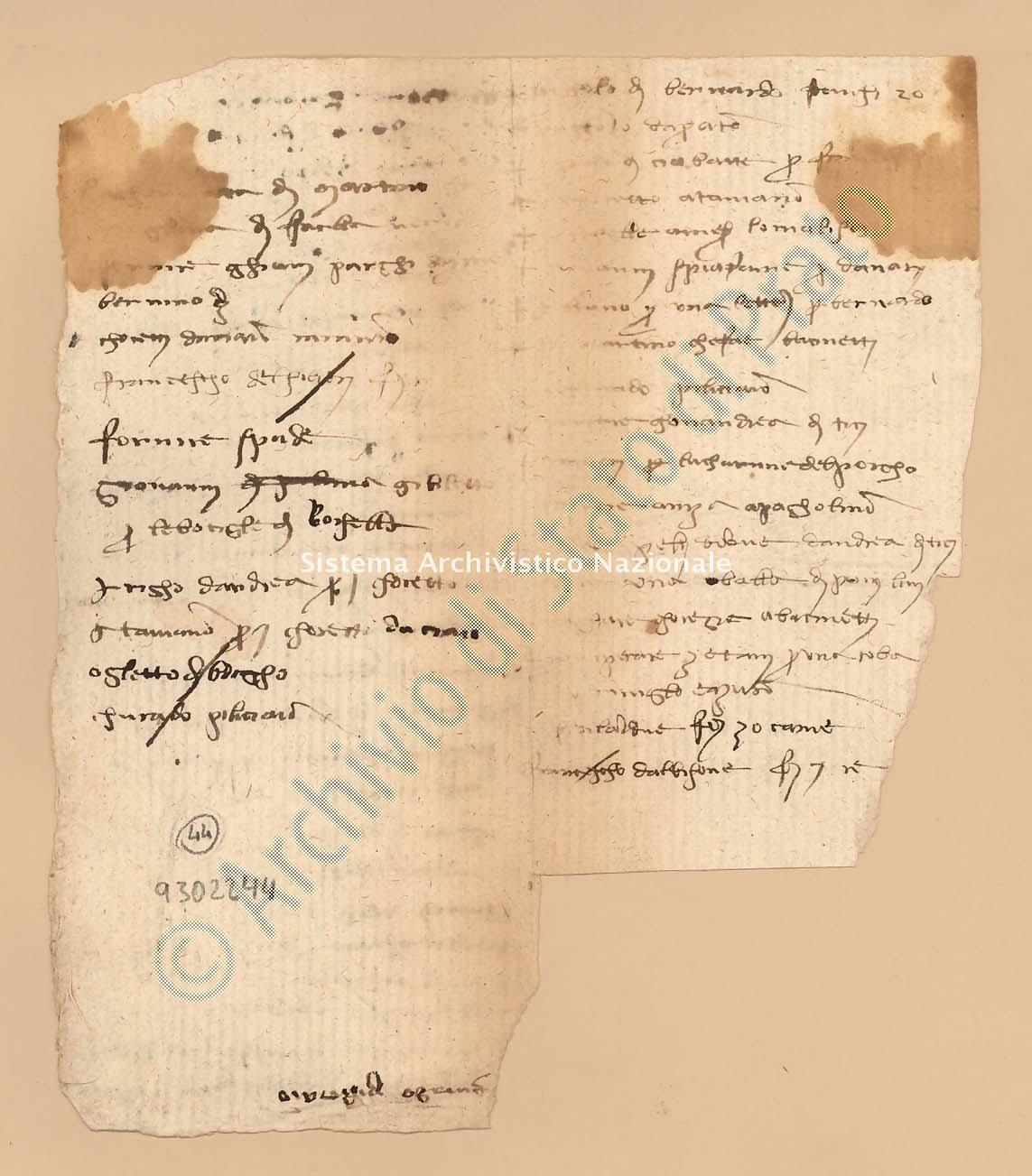 Archivio di Stato di Prato, Fondo Datini, Carteggio specializzato, Ricordanze, Busta 1166 (busta 1166, codice 9302244)