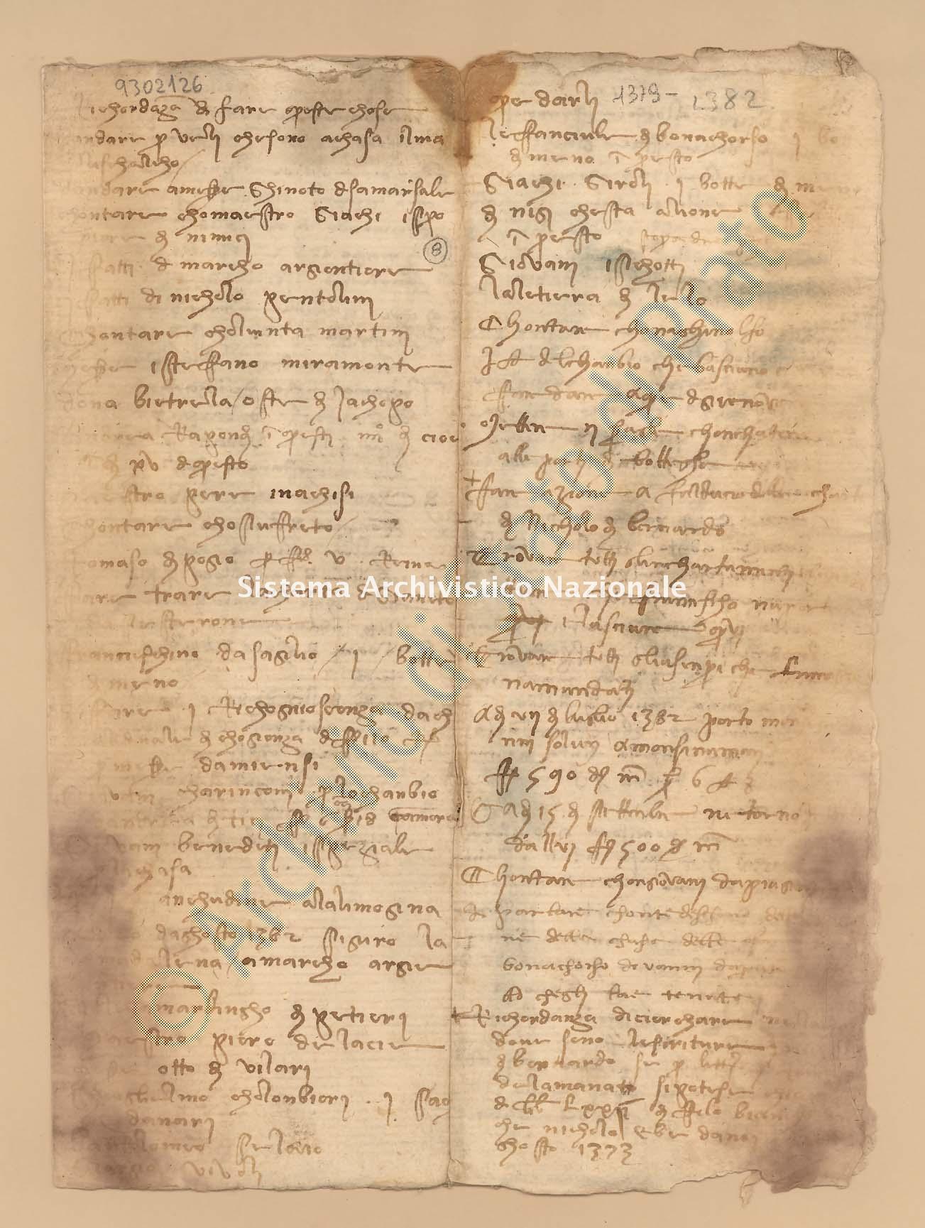 Archivio di Stato di Prato, Fondo Datini, Carteggio specializzato, Ricordanze, Busta 1166 (busta 1166, codice 9302126)