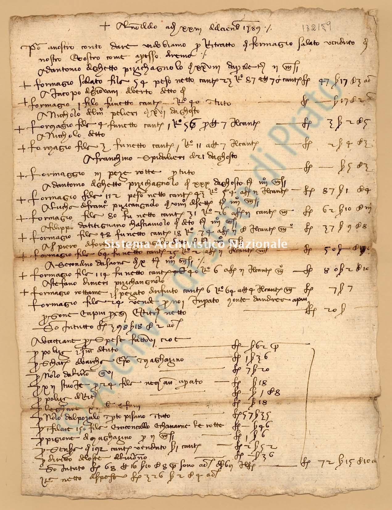 Archivio di Stato di Prato, Fondo Datini, Appendice al carteggio, 1116.143 Lettere Di Datini Francesco Di Marco a Biagio Di Donato Da Firenze (busta 1116, inserto 143, codice 132159)