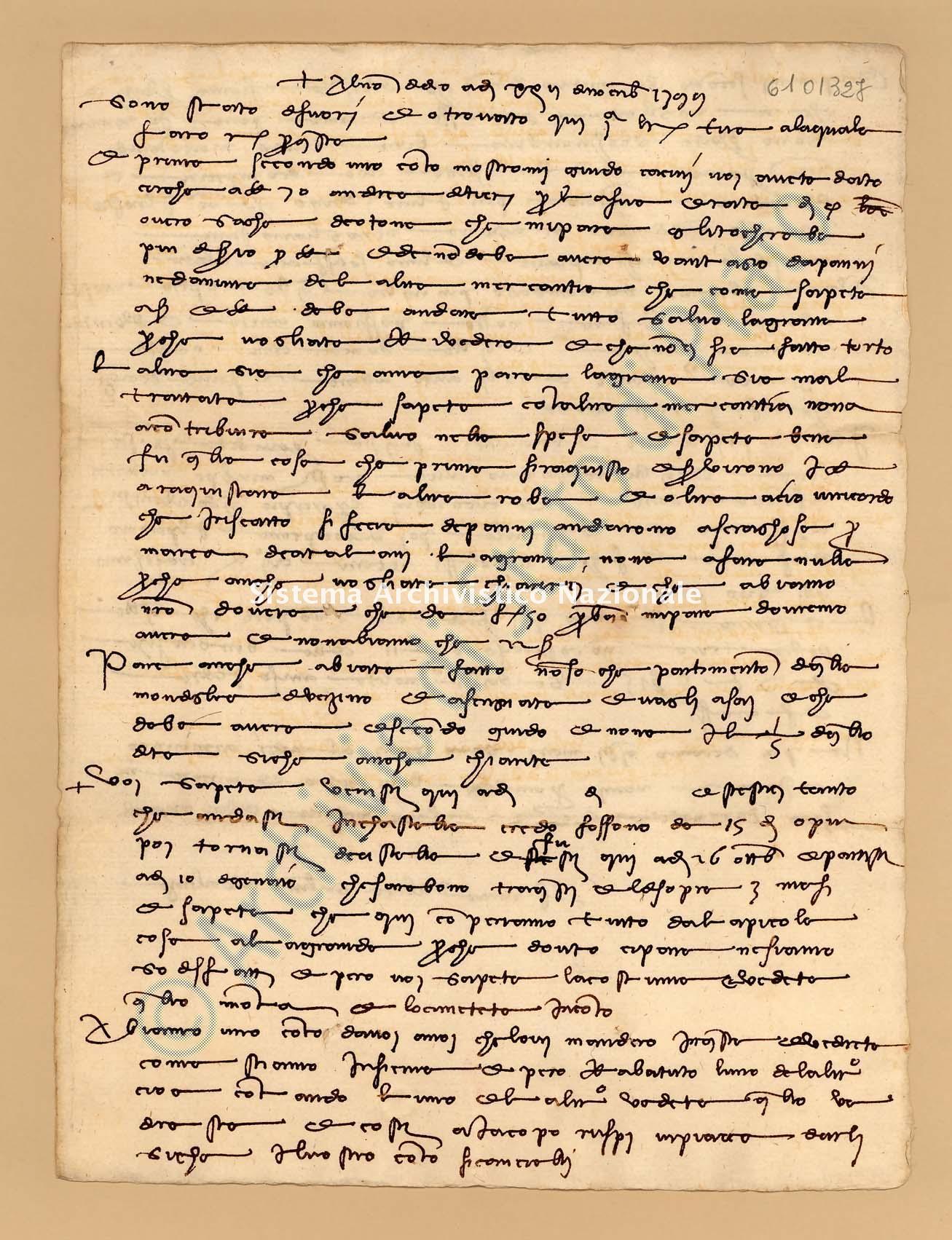 Archivio di Stato di Prato, Fondo Datini, Appendice al carteggio, 1116.162 Lettere Di Datini Francesco Di Marco e Luca Del Sera e Comp. a Villanuzzi Baldo (busta 1116, inserto 162, codice 6101327)