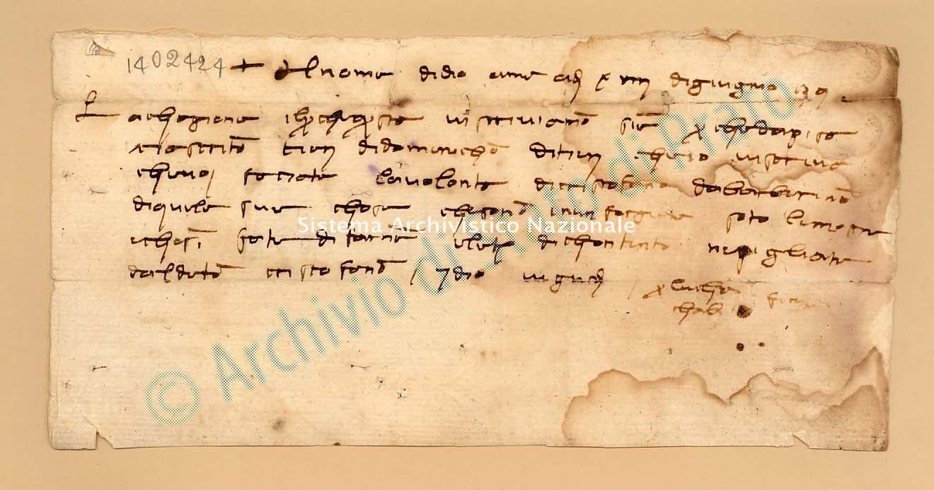 Archivio di Stato di Prato, Fondo Datini, Appendice al carteggio, 1116.228 Lettere Di Cambi Luca Di Giovanni a Cambi Luca Di Giovanni e Tommasi Iacopo Di Paolo e Comp. (busta 1116, inserto 228, codice 1402424)