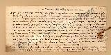 Archivio di Stato di Prato, Fondo Datini, Carteggio privato, Carteggi diversi, Lettere a Luca Del Sera, 1112.120 Lettere Di Guasconi Simone Di Niccolò a Luca Del Sera (busta 1112, inserto 120, codice 703350)