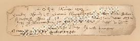 Archivio di Stato di Prato, Fondo Datini, Carteggio specializzato, Ordini di cassa, Fondaco di Firenze, Proveniente Da Cesena (busta 1148.01, inserto 16, codice 131172)