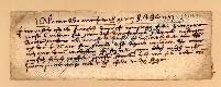 Archivio di Stato di Prato, Fondo Datini, Carteggio specializzato, Lettere di cambio, Fondaco di Avignone, Proveniente Da Avignone (busta 1142, inserto 12, codice 317497)