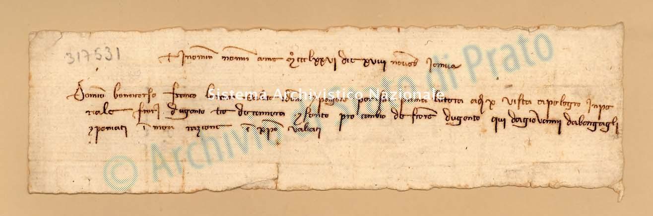 Archivio di Stato di Prato, Fondo Datini, Carteggio specializzato, Lettere di cambio, Fondaco di Avignone, Proveniente Da Genova (busta 1142, inserto 77, codice 317531)