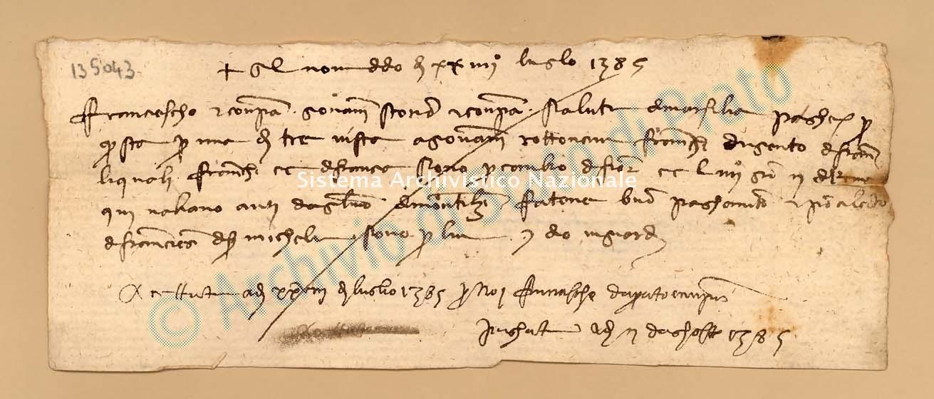 Archivio di Stato di Prato, Fondo Datini, Carteggio specializzato, Lettere di cambio, Fondaco di Avignone, Proveniente Da Marsiglia (busta 1142, inserto 130, codice 135043)