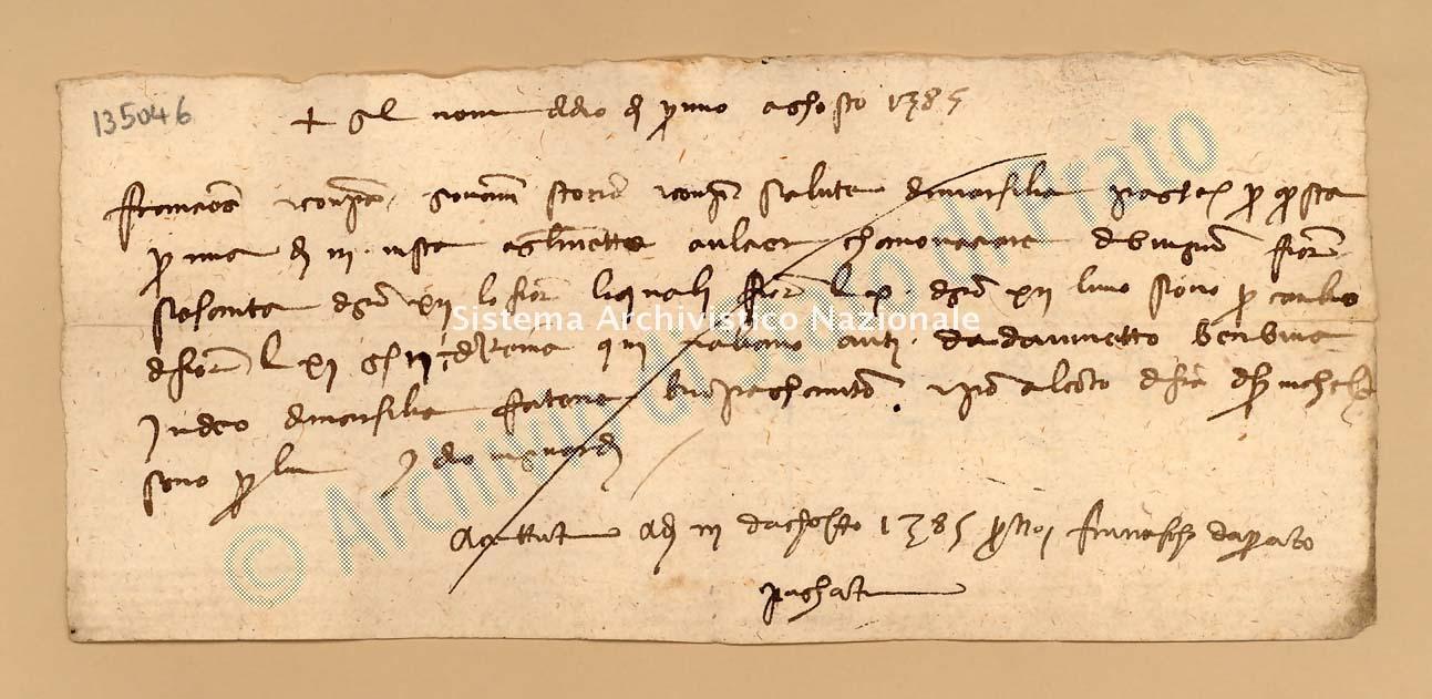 Archivio di Stato di Prato, Fondo Datini, Carteggio specializzato, Lettere di cambio, Fondaco di Avignone, Proveniente Da Marsiglia (busta 1142, inserto 130, codice 135046)