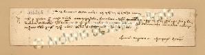 Archivio di Stato di Prato, Fondo Datini, Carteggio specializzato, Lettere di cambio, Fondaco di Barcellona, Proveniente Da Avignone (busta 1145.01, inserto 28, codice 136265)
