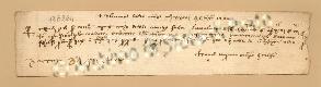 Archivio di Stato di Prato, Fondo Datini, Carteggio specializzato, Lettere di cambio, Fondaco di Barcellona, Proveniente Da Avignone (busta 1145.01, inserto 28, codice 136264)