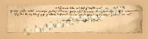 Archivio di Stato di Prato, Fondo Datini, Carteggio specializzato, Lettere di cambio, Fondaco di Barcellona, Proveniente Da Genova (busta 1145.02, inserto 3, codice 1403578)