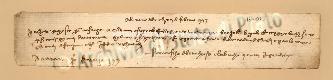 Archivio di Stato di Prato, Fondo Datini, Carteggio specializzato, Lettere di cambio, Fondaco di Barcellona, Proveniente Da Genova (busta 1145.02, inserto 13, codice 137017)