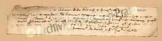 Archivio di Stato di Prato, Fondo Datini, Carteggio specializzato, Lettere di cambio, Fondaco di Barcellona, Proveniente Da Genova (busta 1145.02, inserto 19, codice 136961)