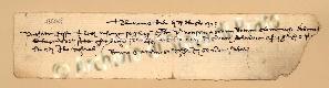 Archivio di Stato di Prato, Fondo Datini, Carteggio specializzato, Lettere di cambio, Fondaco di Barcellona, Proveniente Da Genova (busta 1145.02, inserto 28, codice 136033)