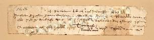 Archivio di Stato di Prato, Fondo Datini, Carteggio specializzato, Lettere di cambio, Fondaco di Barcellona, Proveniente Da Genova (busta 1145.02, inserto 104, codice 136476)