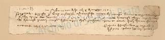 Archivio di Stato di Prato, Fondo Datini, Carteggio specializzato, Lettere di cambio, Fondaco di Barcellona, Proveniente Da Palermo (busta 1145.03, inserto 4, codice 1404083)