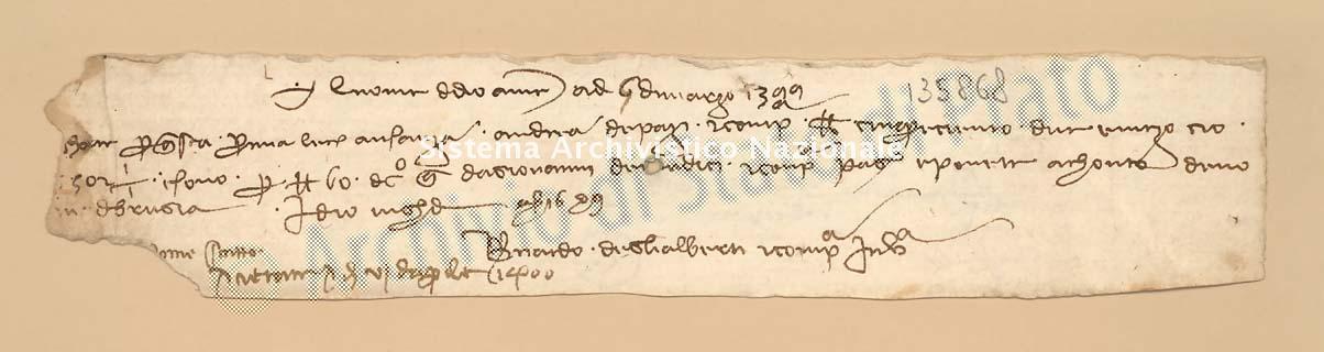 Archivio di Stato di Prato, Fondo Datini, Carteggio specializzato, Lettere di cambio, Fondaco di Barcellona, Proveniente Da Venezia (busta 1145.03, inserto 223, codice 135868)