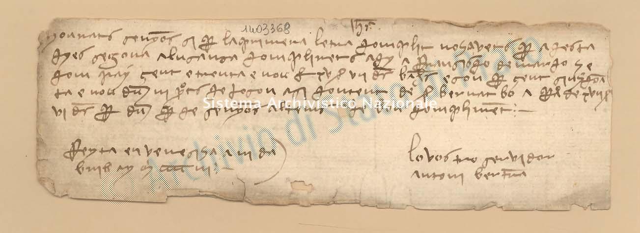 Archivio di Stato di Prato, Fondo Datini, Carteggio specializzato, Lettere di cambio, Fondaco di Barcellona, Proveniente Da Venezia (busta 1145.03, inserto 228, codice 1403368)